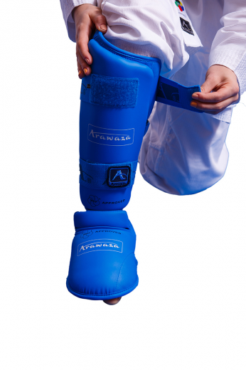 Фото Захист гомілка+стопа Arawaza blue XS-XL