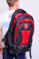 Фото Сумка-рюкзак Kihon червоно-чорний